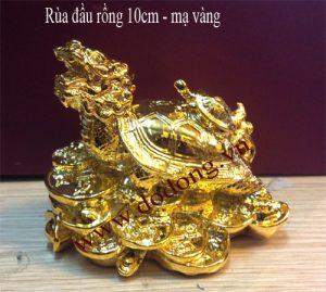 Long quy mạ vàng – quà tặng để bàn