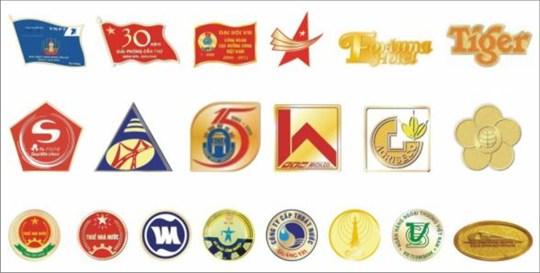 Huy hiệu,huân huy chương,kỉ niệm chương đồng số lượng