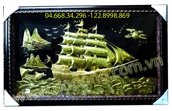 Tranh thuyền buồm - quà tặng phong thủy ý nghĩa