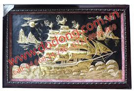 Tranh thuận buồm xuôi gió – quà tặng khai trương phong thủy