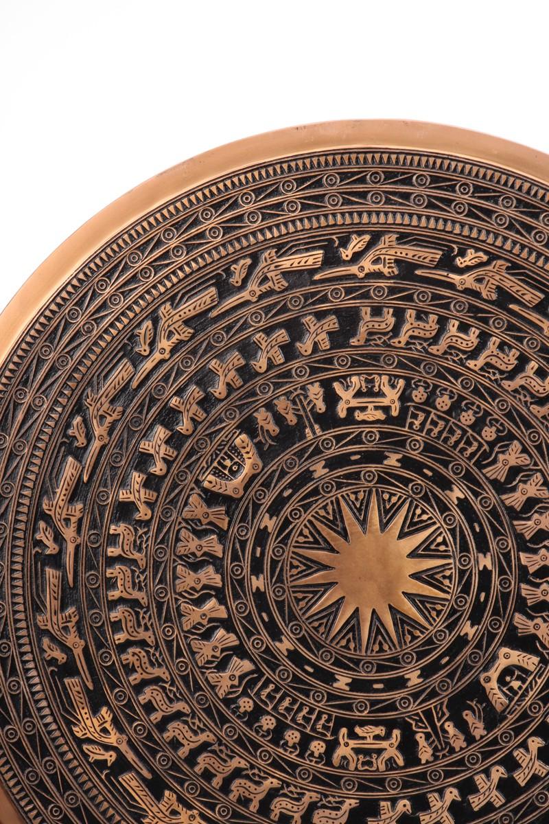 Qùa tặng mặt trống đồng đúc các kích thước: 40,50,60,70,80,90,100cm - giá đỡ sang trọng