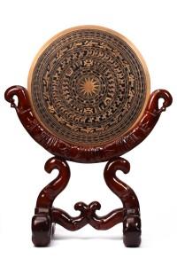 Qùa tặng mặt trống đồng đúc trang trí – đồ đồng quà tặng việt nam