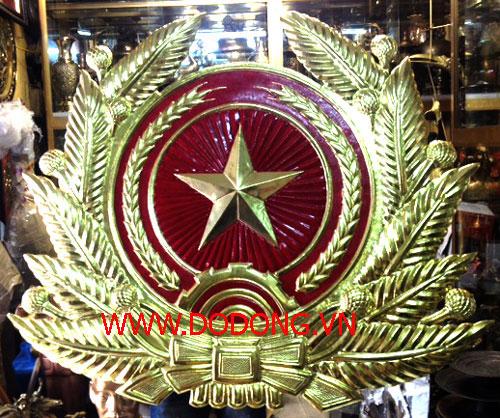 sản xuất quân hàm quân hiệu quân đội bằng đồng – đồ đồng việt