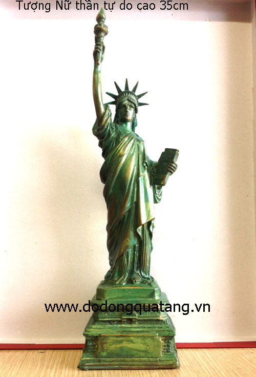 Tượng đồng Nữ Thần Tự Do 35cm – mẫu chuẩn nước Mỹ