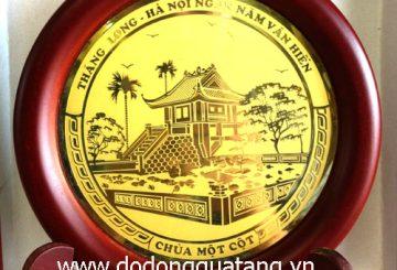 Chế tác danh thắng Hà nội lưu niệm từ đồng – đồ đồng quà tặng