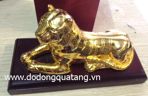 Hổ đồng mạ vàng phong thủy tại hà nội