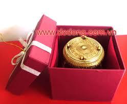 Sản xuất quà tặng trống đồng đúc tinh xảo