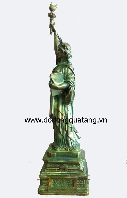 Tượng đồng nữ thần tự do đúc đồng sắc nét,mẫu mã chuẩn - Biểu tượng của nước Mỹ
