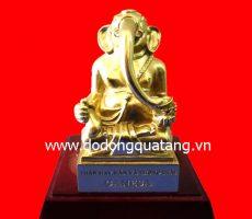Tượng đồng thần may mắn Ganesa 15cm – đồ đồng việt