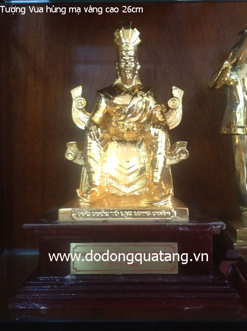 Tượng đồng danh nhân, tượng đài mạ vàng