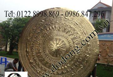 Trống đồng đẹp, trống đồng giả cổ, trống đồng có đế gỗ – đồ đồng