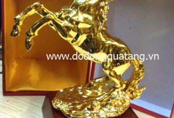 Ngựa phi nước đại – lộc mã chiêu tài lộc – đồ đồng việt