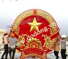 Quốc huy mạ vàng,đúc quốc huy 70 năm Vinh quang Việt nam
