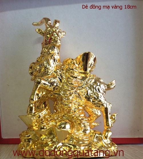 Dê phong thủy – biểu tượng tài lộc cho năm mùi – đồ đồng việt0
