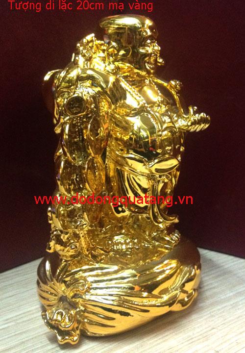 Qùa tặng thần tài bằng đồng mạ vàng để bàn làm việc,phòng khách,phòng thờ