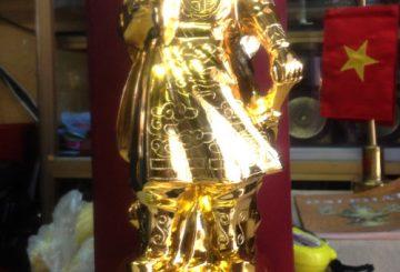Kỹ thuật thếp vàng,sơn son thếp vàng tại Việt nam – đồ đồng thếp vàng