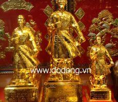 Tượng đồng đức thánh mạ vàng làm quà biếu tặng – đồ phong thủy