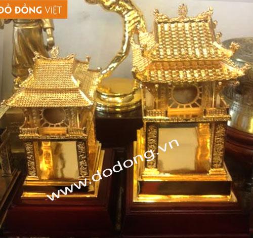 Tượng khuê văn các cao 21cm và 25cm đúc đồng nguyên chất,mạ vàng cao cấp