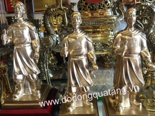 tượng đức thánh đế đồng oai phong