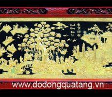 Tranh đồng mạ vàng trang trí nội thất – Đồ đồng việt