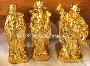 tượng đồng mạ vàng