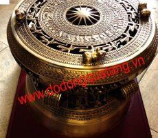 Trống đồng 30,quà tặng trống đồng dk 30cm tinh xảo