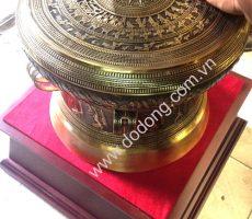 Trống đồng đúc 46cm,bộ quà tặng trống đồng