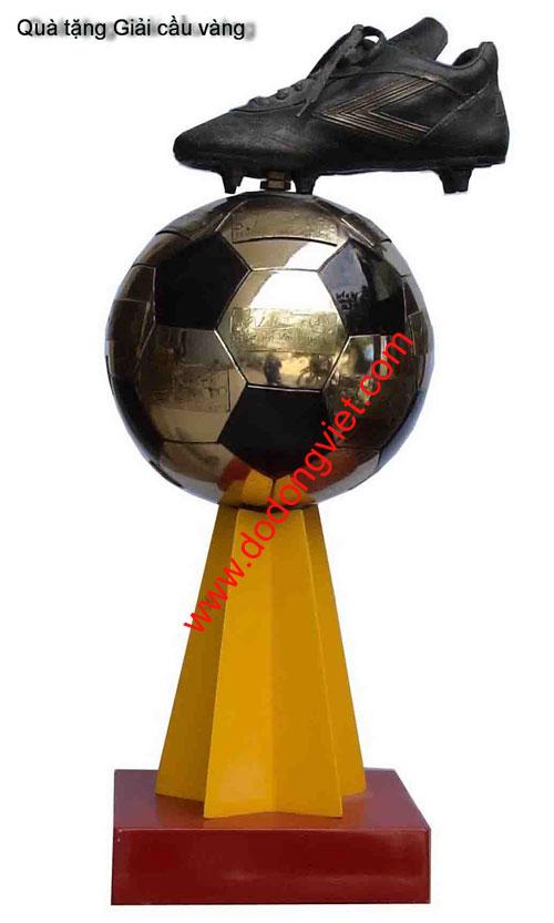 Cúp đá bóng mạ vàng,cúp giày quả bóng mạ vàng