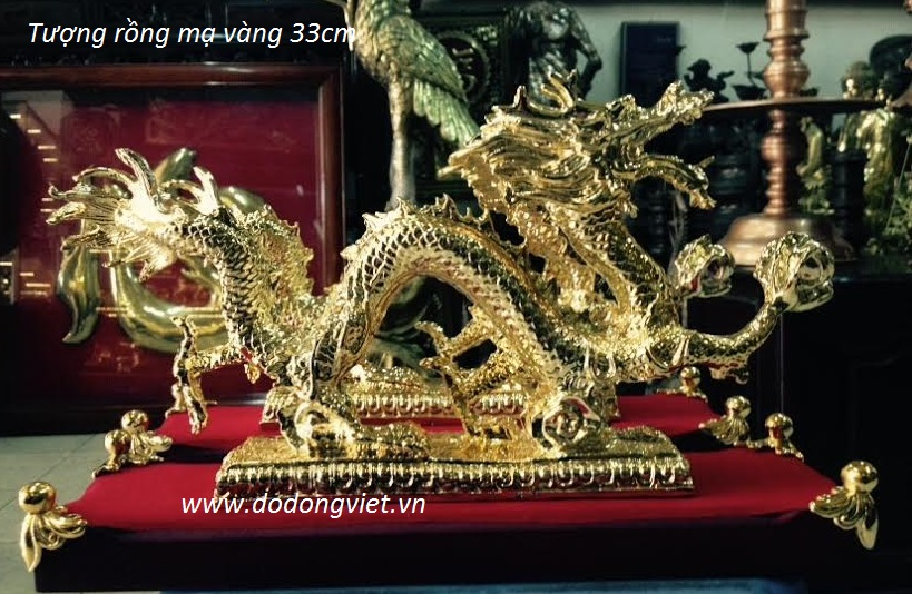 tuongrongmavang33cm