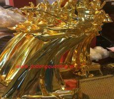 Tượng vàng thánh gióng 36cm Vinh quang Việt nam