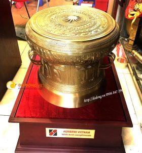 Bán trống đồng dk 46cm đúc tinh xảo tại Hà nội