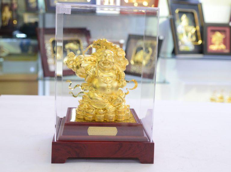 Đồ đồng Việt chuyên quà tặng tâm linh mạ vàng0