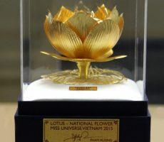 Bông sen vàng biểu tượng văn hóa Việt