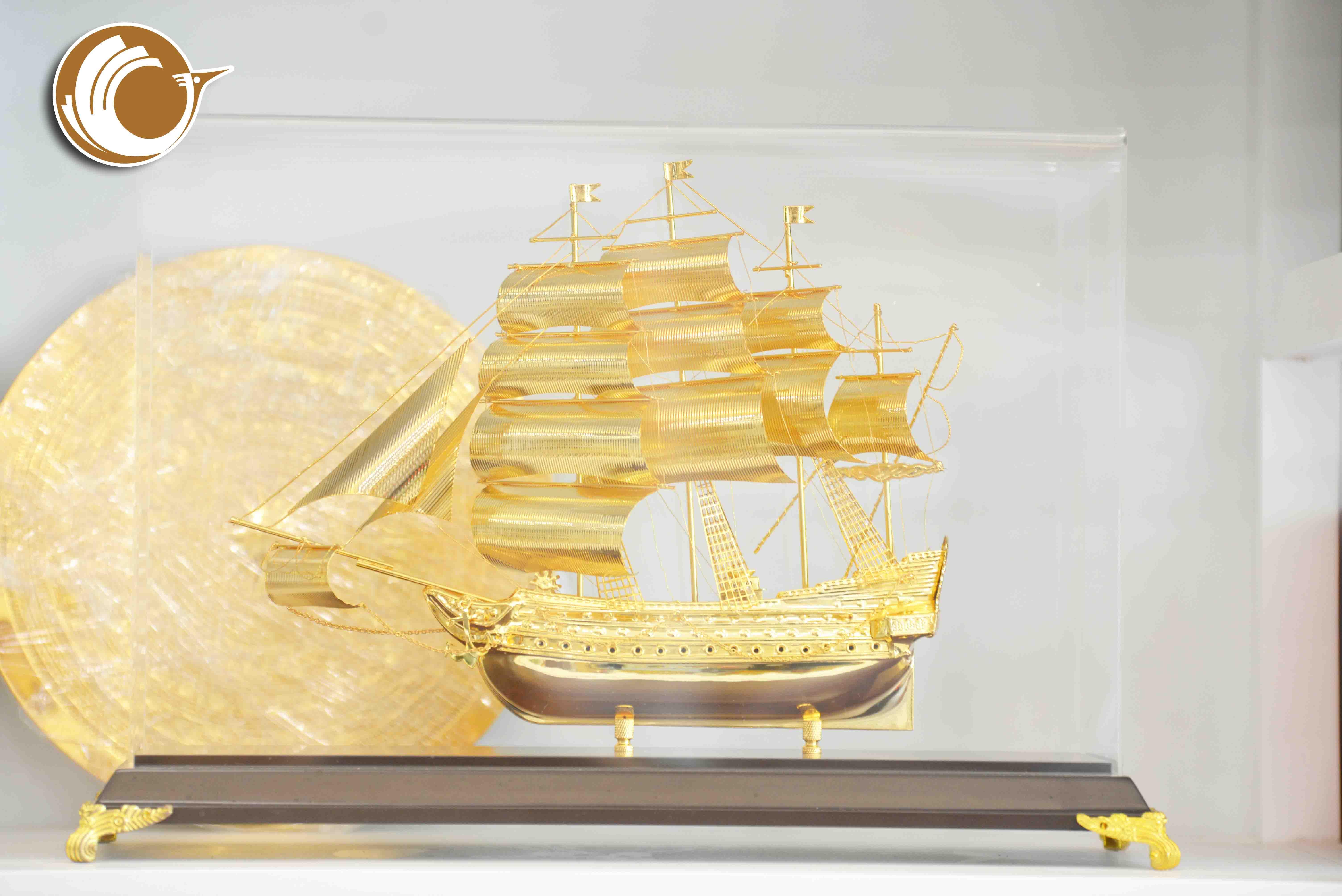 Quà tặng mô hình thuyền buồm, quà tặng khai trương ý nghĩa0