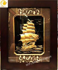 Tranh thuận buồm xuôi gió 3d quà tặng từ Vinalines