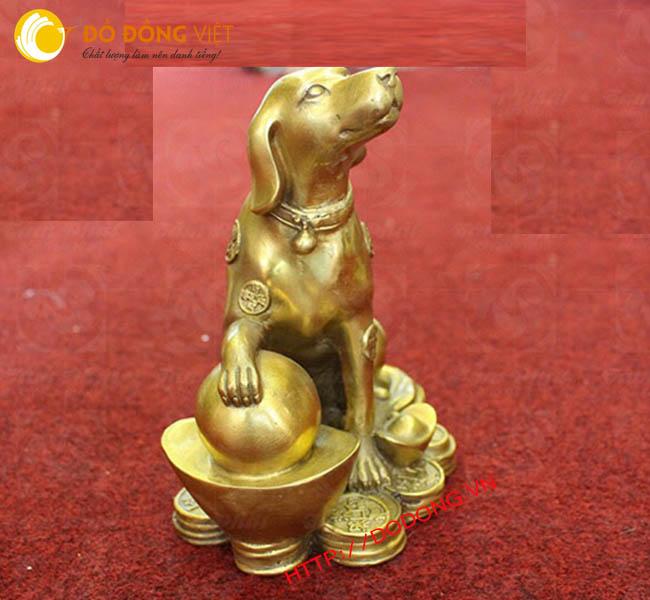 Đúc tượng chó bằng đồng cao cấp,sản xuất quà tặng năm Mậu tuất 2018 ý nghĩa và giá trị