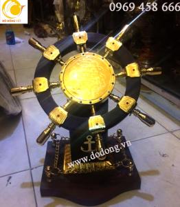 quà tặng đồng mạ vàng cao cấp,bánh lái tàu thủy phong thủy