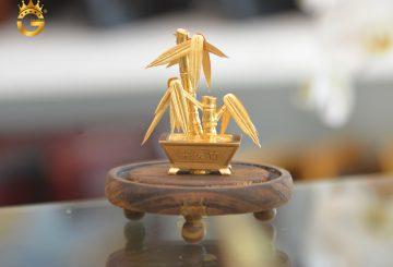 Địa chỉ mua cây trúc dát vàng 24k làm quà tặng 8/3 cho sếp nữ