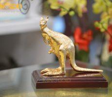 Tượng đồng chuột túi Kangaroo- đồ đồng chế tác theo yêu cầu