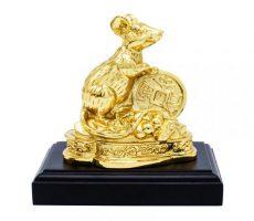 Tượng chuột đồng mạ vàng 24k quà tặng 2020