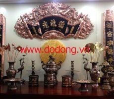 Cuốn thư bằng đồng đẹp, bán cuốn thư câu đối tại Hà Nội