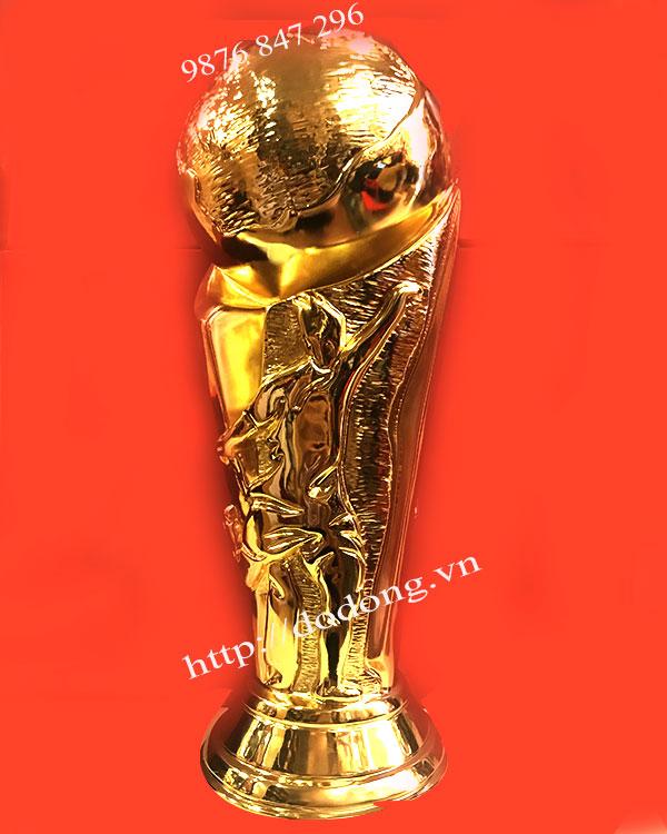 Sản phẩm cúp đồng  mạ vàng world cup 2018 đẹp nhất
