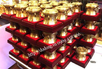 Xưởng chuyên đúc trống đồng làm quà tặng đẹp