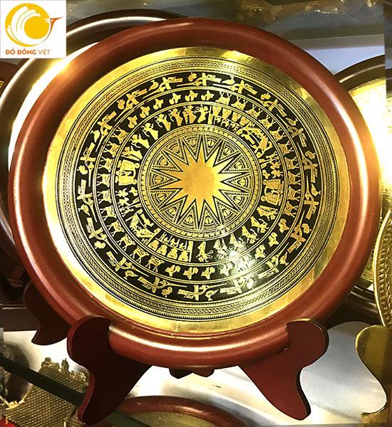 Các mẫu biểu trưng gỗ đồng ăn mòn đổ màu – đồ đồng lưu niệm0