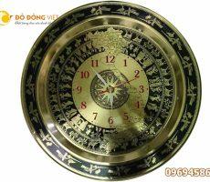 Trống đồng hồ bản đồ DDVDH 54 – Mặt đồng hồ treo tường