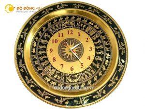 Đồng hồ treo tường, mặt trống đồng hồ trang trí
