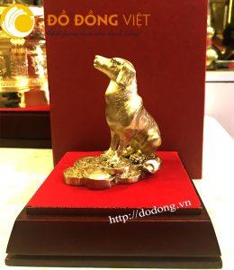Quà Tết 2018 độc đáo, tượng chó phong thủy, linh vật tuổi Tuất