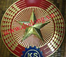 Công ty Đồ đồng Việt chuyên đúc huy hiệu, quốc huy bằng đồng