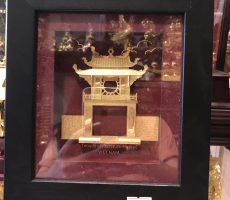 Quà tặng tranh vàng 24k- tranh khuê văn các