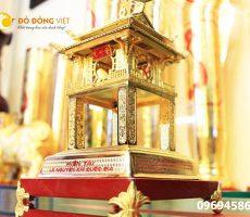 Khuê Văn Các bằng đồng mạ vàng 24k làm quà tặng cao cấp